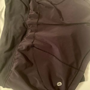 Black Lululemon shorts